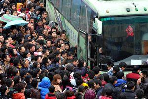 Trung Quốc bắt đầu cuộc 'Xuân vận' của gần 3 tỉ lượt người