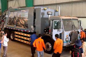 Tập huấn lái xe vận chuyển rác công nghệ Hoa Kỳ