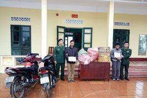 Quảng Ninh: Bắt vụ vận chuyển hơn 100kg pháo lậu