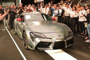 Chiếc Toyota Supra 2020 đầu tiên đã có chủ, giá bán gây 'sốc'