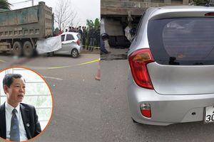 Tài xế ô tô tông chết thợ cơ khí đang sửa xe đậu bên lề đường có thể bị xử lý thế nào?