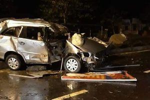 Hiện trường vụ tai nạn lúc 3 giờ sáng ở Quảng Nam: Nguyên nhân vẫn là một dấu hỏi