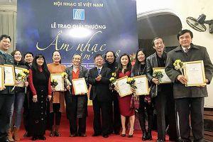 Giải thưởng Hội Nhạc sỹ Việt Nam 2018: 'Bỏ trống' hầu hết các giải A