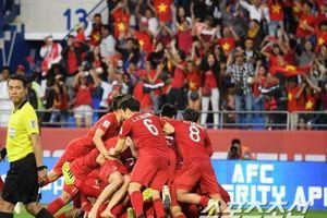 Trận Việt Nam và Jordan có lượng khán giả theo dõi trên truyền hình cao kỷ lục