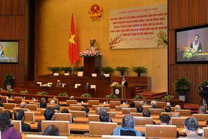 Ủy ban Thường vụ Quốc hội tổ chức gặp mặt, chúc Tết cán bộ hưu trí