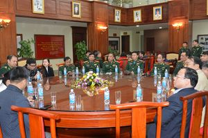 Bộ tư lệnh Bộ đội Biên phòng gặp mặt báo chí nhân dịp Xuân Kỷ Hợi