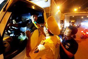 Sau 5 ngày ra quân, CSGT TPHCM không phát hiện tài xế sử dụng ma túy