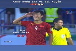 Đưa ĐTVN vào tứ kết Asian Cup, Bùi Tiến Dũng được bạn gái tưởng thưởng