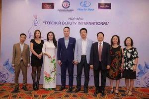 Cô giáo Nguyễn Thị Thu đạt giải cô giáo có kỹ năng ứng xử tình huống hay nhất hội thi 'Teacher Beauty International 2018'