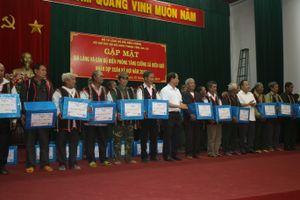 Tỉnh Gia Lai gặp mặt già làng và cán bộ BĐBP tăng cường xã biên giới