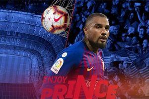 Vì sao Barca quyết tâm mượn Kevin Prince Boateng?