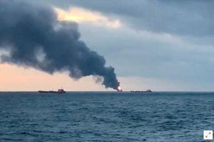 Hai tàu bốc cháy, 10 thủy thủ thiệt mạng ở Crimea