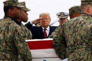 Tổng thống Mỹ tưởng niệm binh sĩ Mỹ tử trận tại Syria
