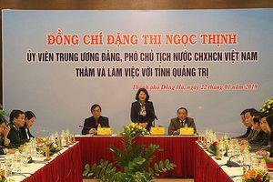 Quảng Trị cần tạo môi trường tốt cho doanh nghiệp phát triển