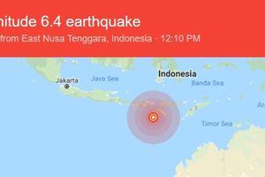 Động đất liên tiếp xảy ra trong ngày tại Indonesia