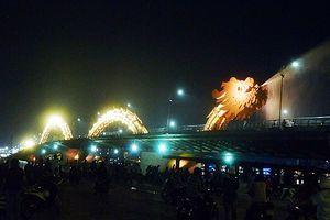 Đà Nẵng: Dịp Tết, phun lửa, phun nước cầu Rồng, quay nhịp cầu Sông Hàn thế nào?