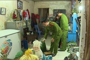 Hà Nội: Phát hiện 1 cơ sở vi phạm, yêu cầu tiêu hủy 114kg giò có hàn the