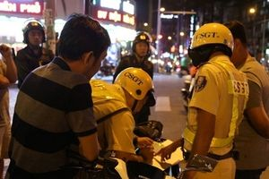 Các tổ công tác đặc biệt của Công an TP Hồ Chí Minh