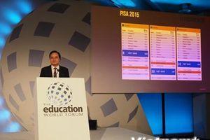 Bộ trưởng Phùng Xuân Nhạ dự Diễn đàn Giáo dục thế giới