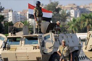 Ai Cập tiêu diệt 59 phần tử khủng bố trong các chiến dịch truy quét