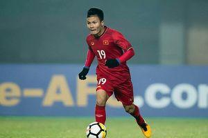 Nguyễn Quang Hải đạt giải 'Cầu thủ xuất sắc nhất vòng bảng'