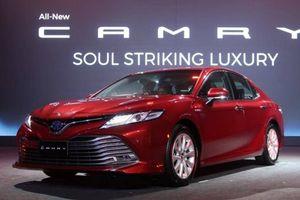 Ra mắt tại Singapore, Toyota Camry 2019 sắp được bán tại Việt Nam