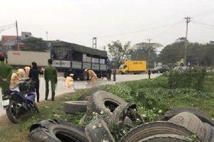 Hưng Yên: Va chạm với xe tải, người phụ nữ bán bún tử vong