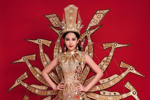 Lê Âu Ngân Anh liên tục mắc lỗi ở các phần thi tại Hoa hậu Liên lục địa