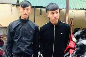 Thanh Hóa: Bắt giữ nhóm thanh niên hung hãn đánh người cướp xe máy