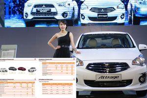 Thông số kỹ thuật của Mitsubishi Attrage 2019 sắp bán ra tại Việt Nam