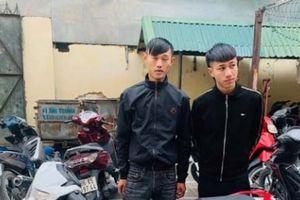 Thanh Hóa: Công an bắt 4 đối tượng cướp giật trong đêm