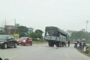 Va chạm với xe tải, người phụ nữ đi xe đạp tử vong tại chỗ