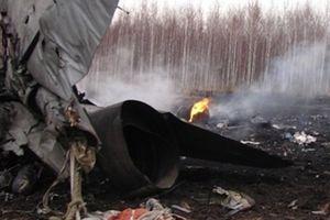 Máy bay ném bom Tupolev-22M3 rơi, 2 phi công tử nạn
