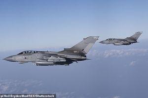 Anh rút hơn nửa số chiến đấu cơ khỏi Iraq và Syria