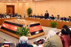 Hà Nội gặp mặt lãnh đạo HĐND, UBND thành phố qua các thời kỳ
