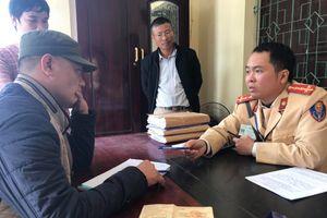 Nghệ An: Phát hiện tài xế dương tính với ma túy