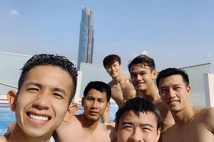 Bên trong khách sạn tuyển Việt Nam ở tại Dubai trước trận gặp Nhật Bản
