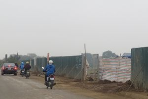 Huyện Hoài Đức: Ô nhiễm môi trường do thi công dự án
