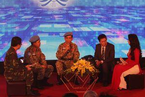 Cục Gìn giữ hòa bình Việt Nam giao lưu, gặp gỡ báo chí nhân dịp Xuân Kỷ Hợi