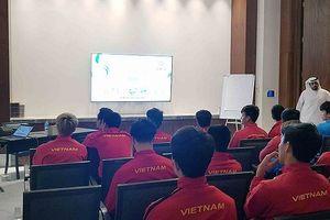 Đội tuyển Việt Nam làm quen với công nghệ VAR