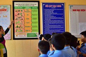Chuẩn hóa thực đơn bán trú bậc tiểu học ở Điện Biên