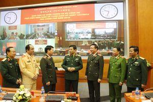 Bộ Quốc phòng và Bộ Công an giao ban thực hiện Nghị định số 77 của Chính phủ