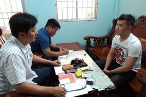 Từ Hòa Bình, Hà Nội vào Bạc Liêu 'hành nghề' tín dụng đen, bị bắt quả tang