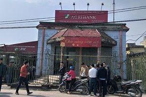 Cướp ngân hàng táo tợn tại Thái Bình giữa ban ngày