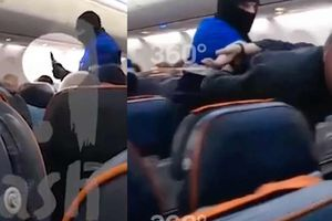 Khoảng khắc cảnh sát Nga khống chế không tặc trên Boeing 737