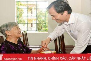 Hà Tĩnh chi trả trợ cấp cho 410 người có thành tích tham gia kháng chiến