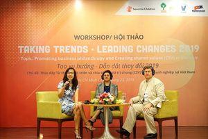 Doanh nghiệp cần đưa từ thiện phát triển vào chiến lược trung tâm