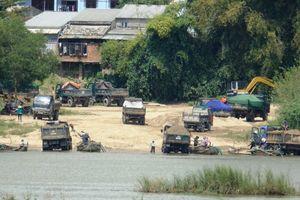 Khai thác hơn 2.000m3 cát trái phép, Công ty TNHH Lý Tuấn bị xử phạt 200 triệu đồng