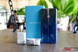 Trên tay Honor 10 Lite: Thiết kế ấn tượng với màn hình tràn viền, cụm camera AI kép!