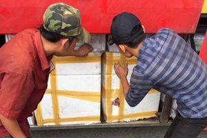 Đà Nẵng: Phát hiện xe khách vận chuyển 757kg thịt không rõ nguồn gốc đi tiêu thụ